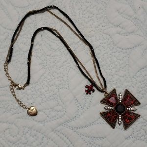 Betsy Johnson Vintage inspired necklace